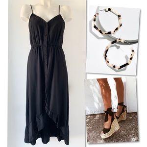Cotton On Dresses - Cotton:On button down black dress